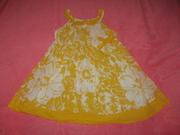 класснючее платье early days на 18-23 мес,  можно больше.