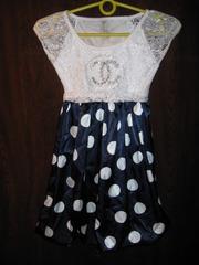 Платье новое В горошек