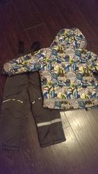 костюм зимний  куртка + комбинезон