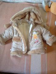Зимний комбинезон детский на 3-4 года
