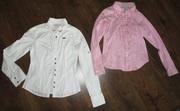 Продам хб блузочки на девочку 10-11 лет Gloria Jeans
