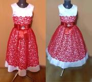 Детское подростковое нарядное платье Стелла,  новое