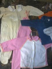 детская одежда на 0-4мес