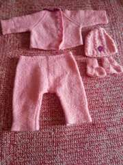 Комплект из натуральной шерсти от  0 месяцев